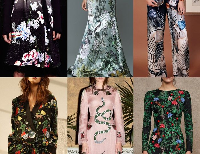 Prints trend Fall/Winter 2016/17.